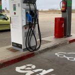 EDP pone en marcha el primer punto de recarga para vehículos eléctricos en la A-66 entre León y Benavente