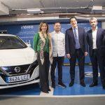 Nissan entrega el vehículo eléctrico 7.000 de la marca en Zaragoza