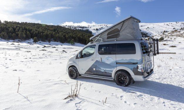Nissan presenta su furgoneta camperizada. La e-NV 200 Winter Camper.