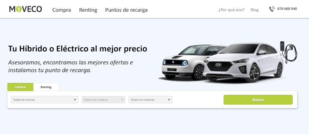 MOVECO. Nuevo logotipo y nuevo contenido de su página web www.moveco.es