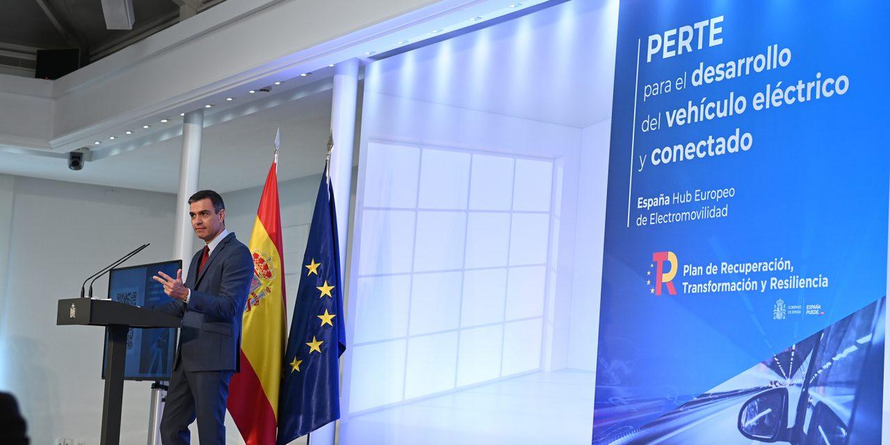 Presentación del Proyecto Estratégico para la Recuperación y Transformación Económica (PERTE) del vehículo eléctrico y conectado