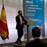 AEDIVE participa en la presentación del PERTE del vehículo eléctrico y conectado.