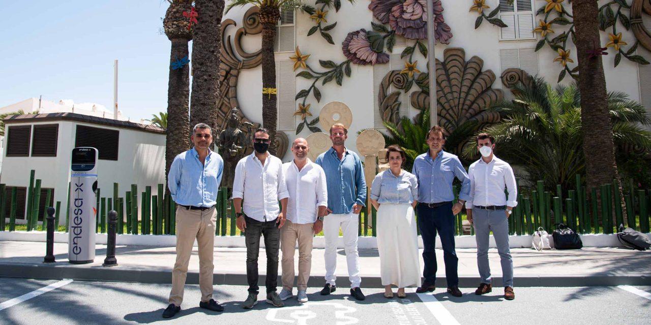 Endesa x y Palladium Hotel Group se unen para facilitar la recarga de vehículo eléctrico en España
