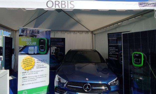 Orbis, presenta en la feria VEM 21 su nuevo sistema de recarga «Viaris Solar».
